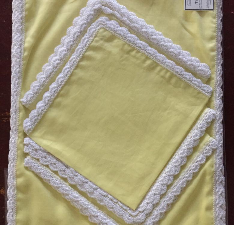Linen Placemat & Napkin Set for 6