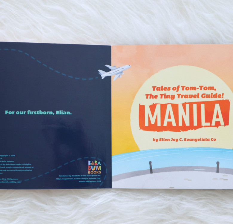 The Tiny Travel Guide: MANILA (Board Book)