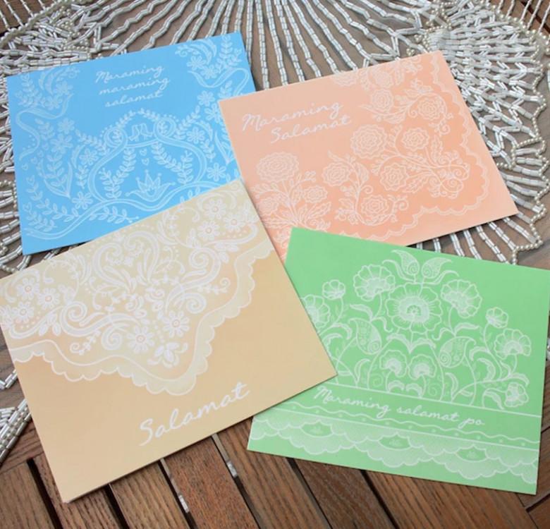 Salamat Greeting Cards (Set of 12)
