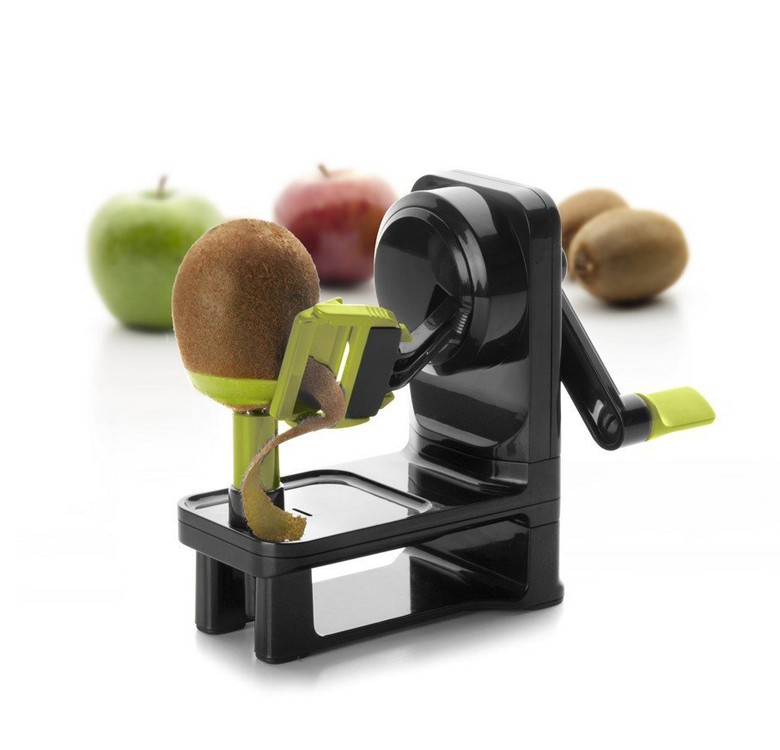 Kiwi and Apple Peeler