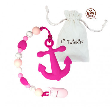 Teether with Clip-on (Anchor)