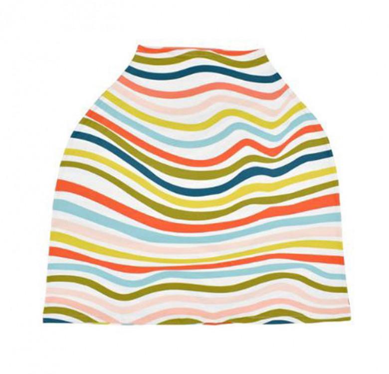 Nursing & Carseat Cover (Scandic Rainbow)