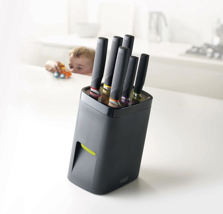 6-Piece Lock Block Knife Set
