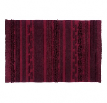 Lorena Canals Air Savannah Red Washable Rug