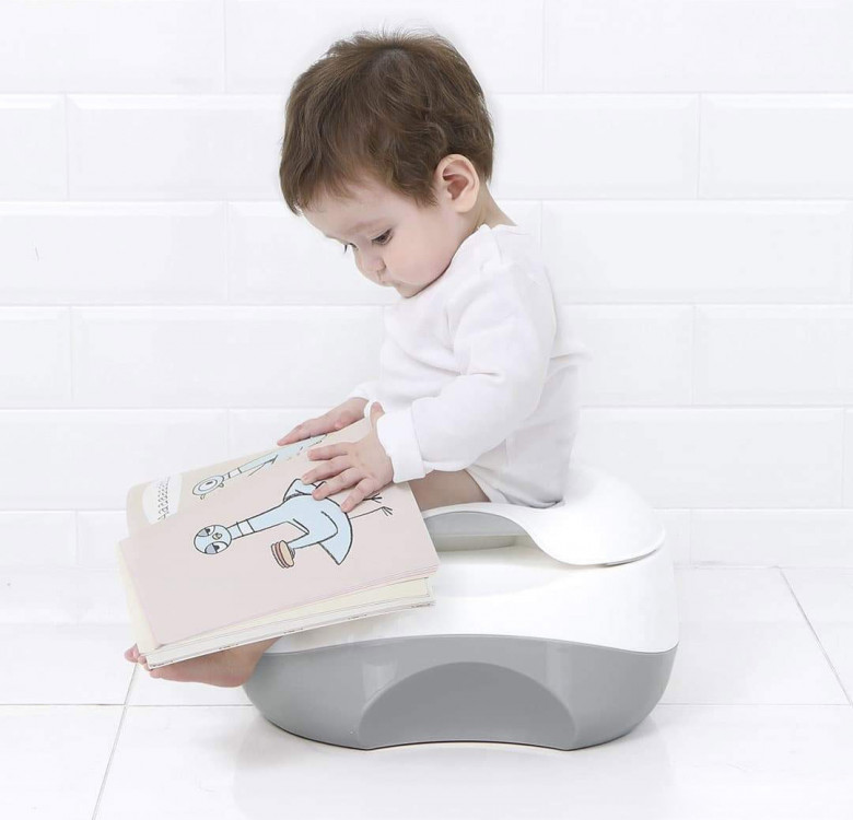3-in-1 Multi Baby Potty & Step Stool