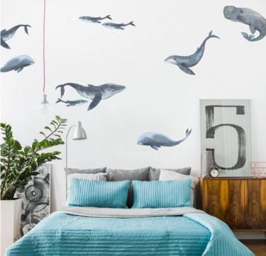 Urban Walls Whales