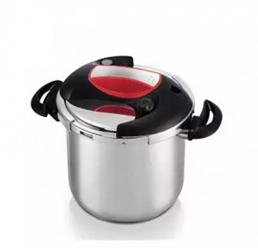 Red Pressure Cooker 10L