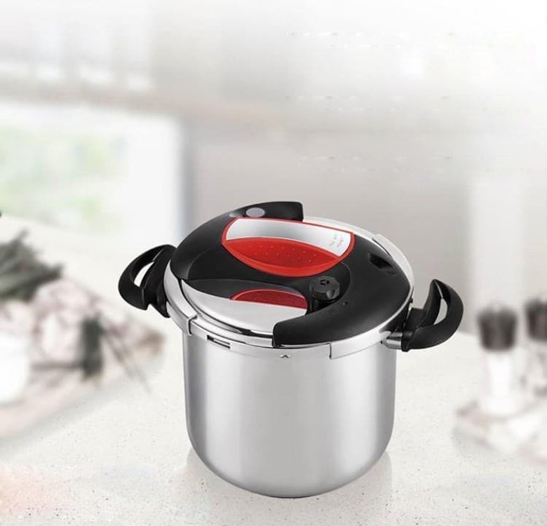10L Red Pressure Cooker