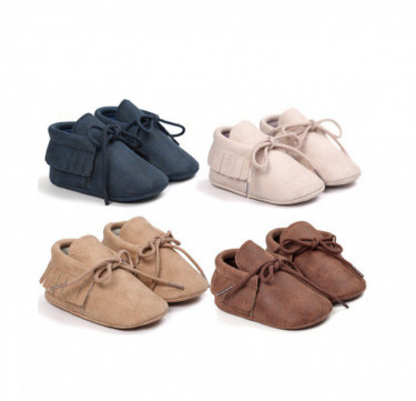 Baby Suede Moccasin Shoes