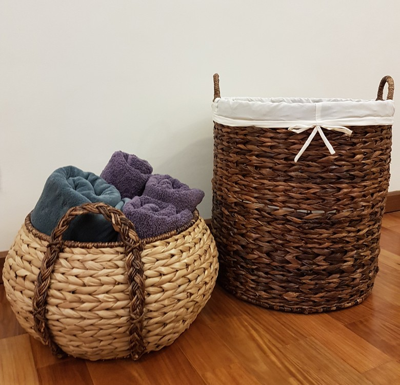 Pouf Basket Medium