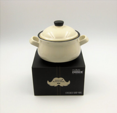 Monsieur Prep Covered Soup Cup with Handles