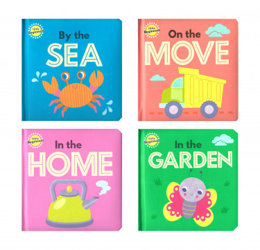 Little Beginners Mini Padded Board Book
