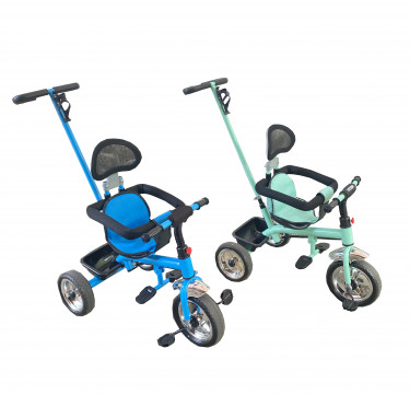 2-in-1 Push Tricycle