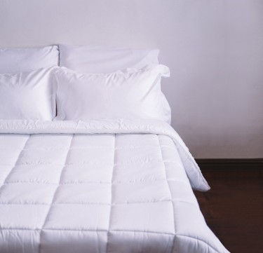 3-Piece Ghost White Sheet Set