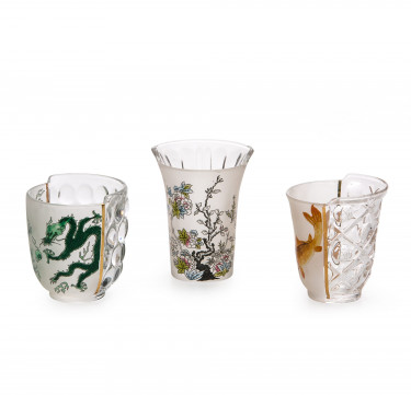 Hybrid Aglaura Set of 3 Drinking Glasses