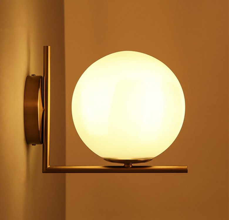 Salvi Gold Frost Wall Sconce (For Pre Order)