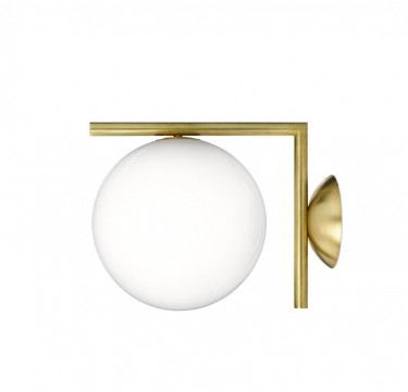 Salvi Gold Frost Wall Sconce