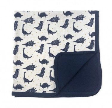 Finn + Emma Dinos Collection Reversible Blanket
