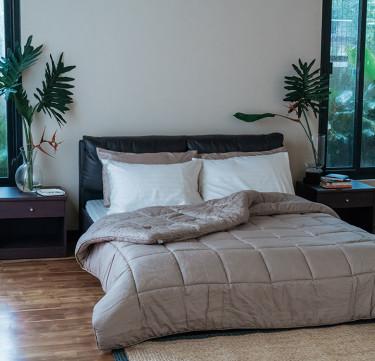 Brown Royal Comforter