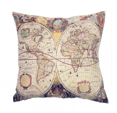 Maps Pillow