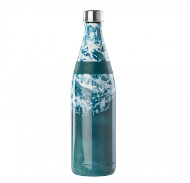 Aladdin Earthscapes™ Fresco Twist & Go Vacuum Water Bottle, 20oz (Waves)