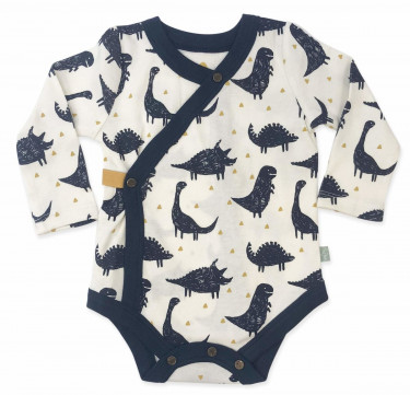 Finn + Emma Dinos Collection Long Sleeved Bodysuit