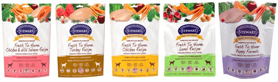 Stewart® Raw Naturals™ Freeze Dried Nutrition