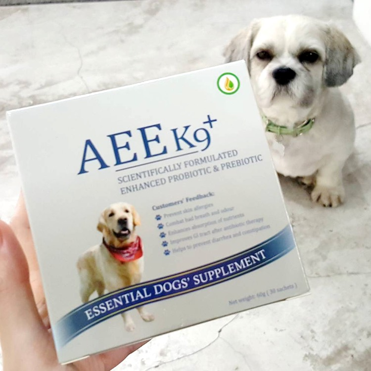 AEE K9 Probiotic & Prebiotic Supplement for Dogs