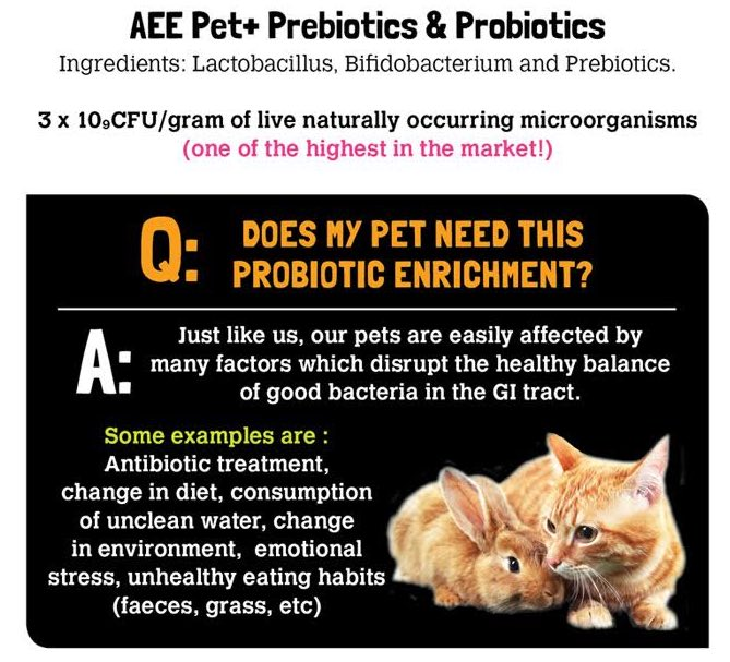 AEE Pets+ Essential Supplement for Cats & Small Animals