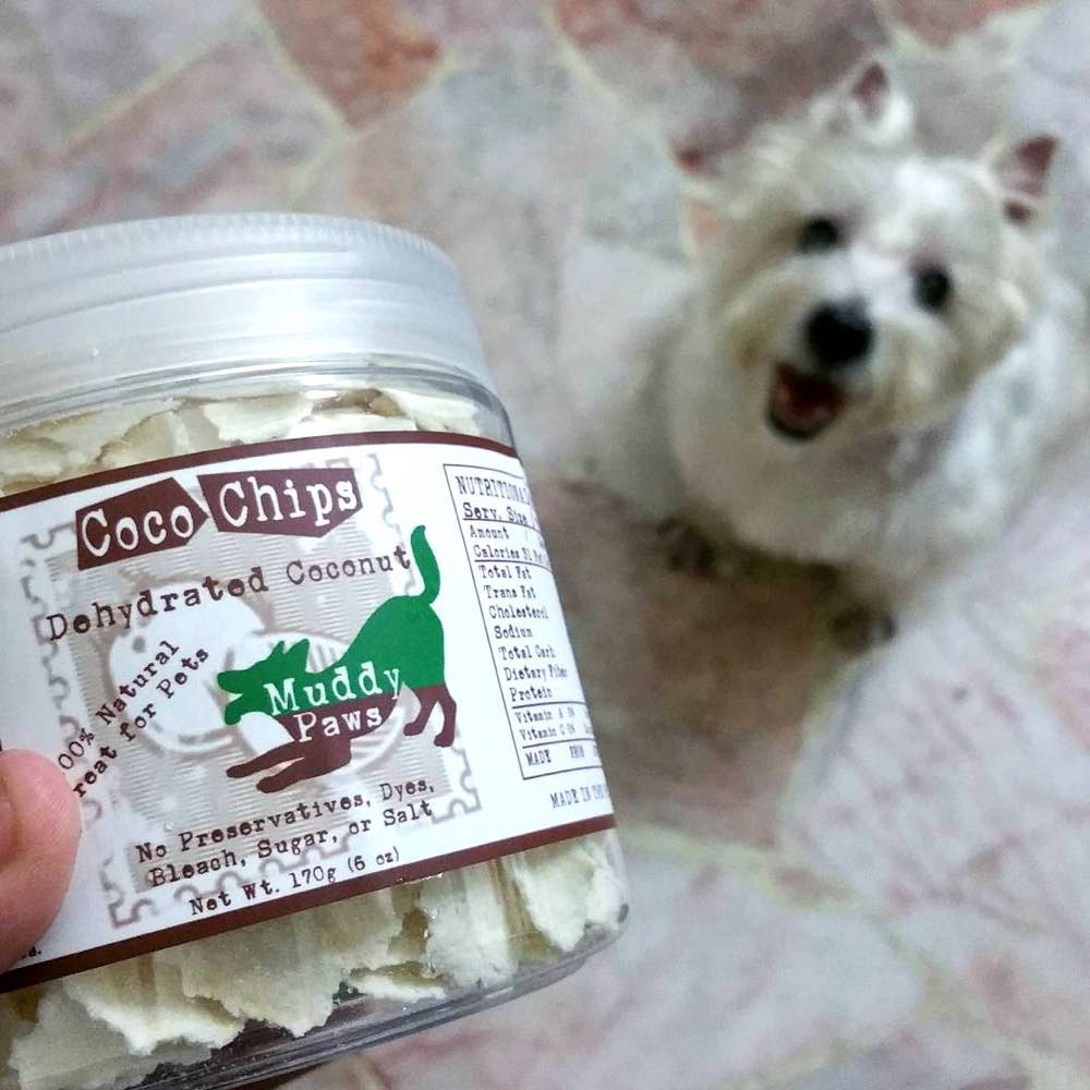 Muddy Paws Coco Chips Treats