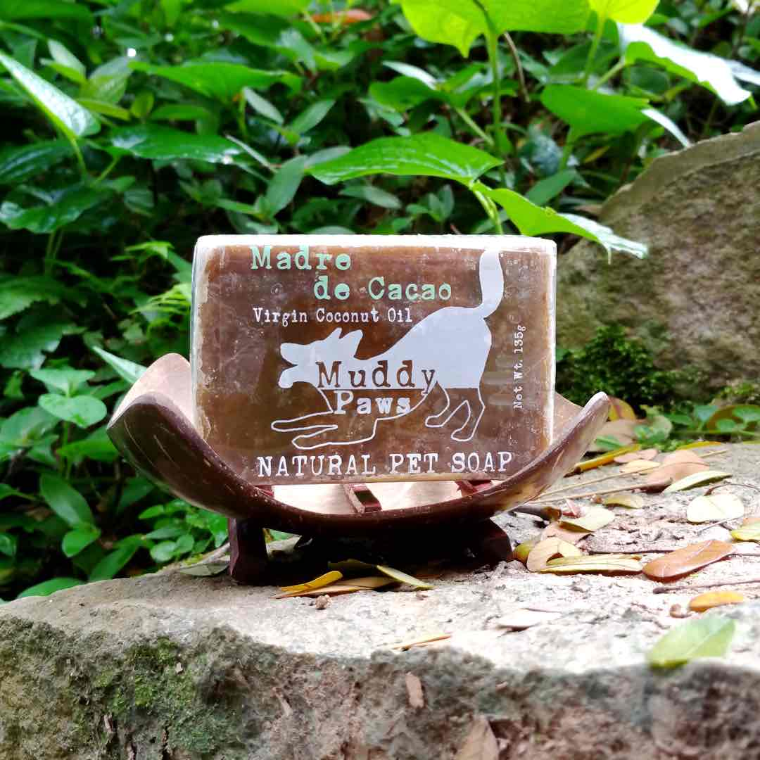 Muddy Paws Natural Madre de Cacao Soap