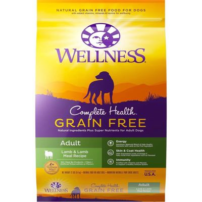 Wellness Complete Health Grain Free Adult Lamb & Lamb Meal Recipe