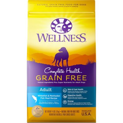 Wellness Complete Health Grain Free Adult Whitefish & Menhaden Fish Meal Recipe