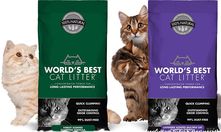 Less Litter, Cleaner Litter Box.