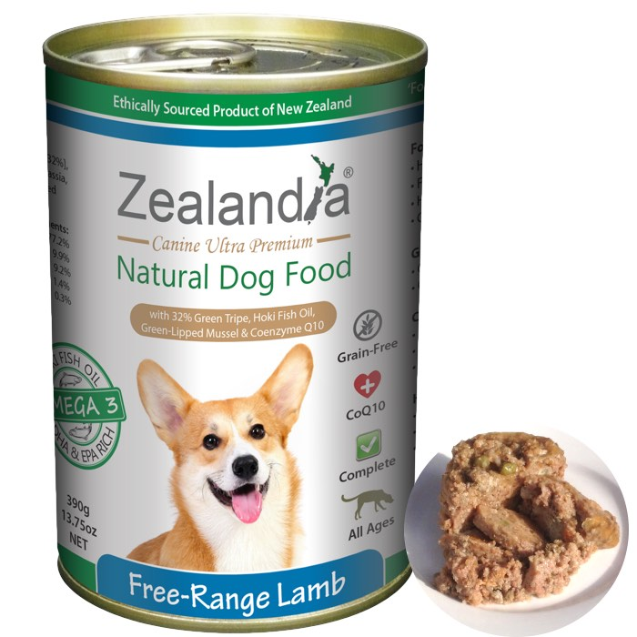 Zealandia Canned Dog Food
