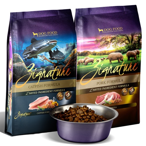 NEW! Zignature Catfish & Pork Dog Food