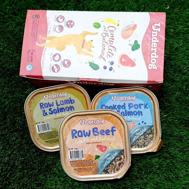 Underdog Frozen Dog Food Singapore