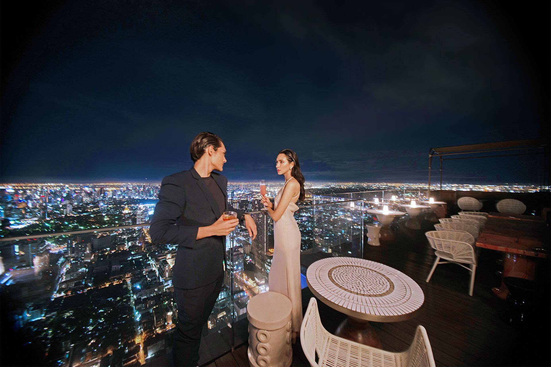 Mahanakhon Bangkok SkyBar 5