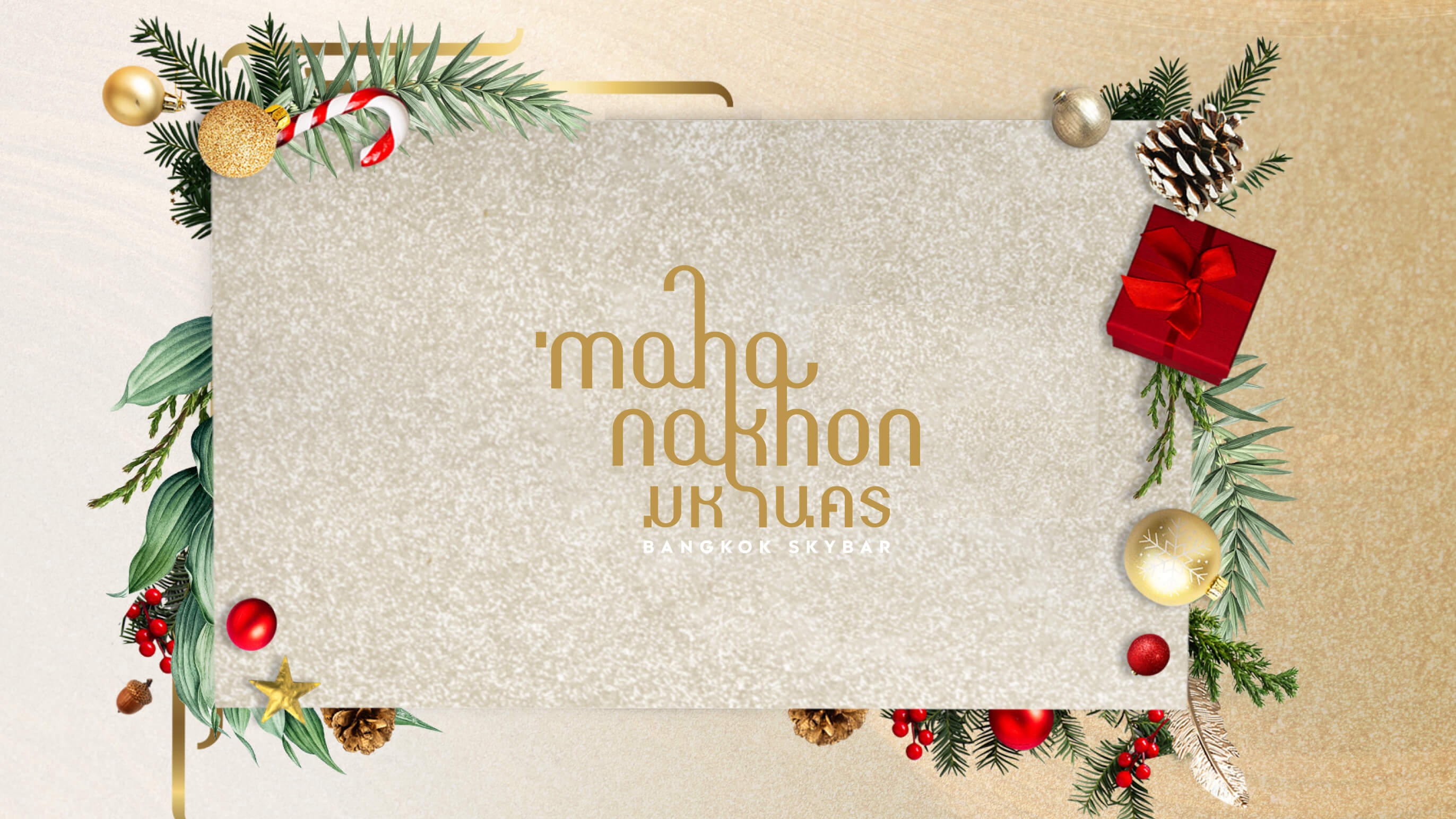 MAHANAKHON Skybar christmas packages