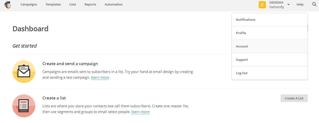 How To Integrate MailChimp App with your KartRocket Store