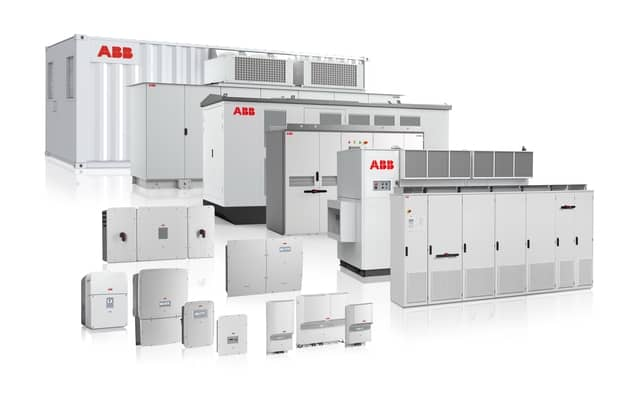 ABB products - PLC, soft starters, drives