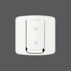 Smart switch aurora 2 gang