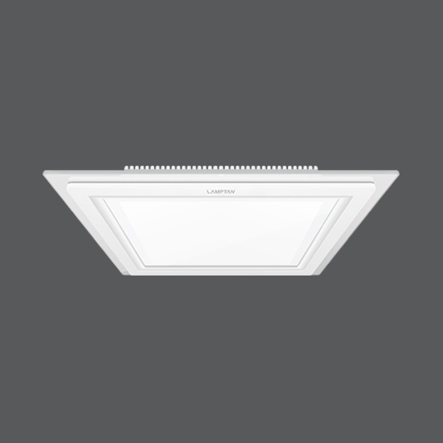 Led downlight glass glow square web1