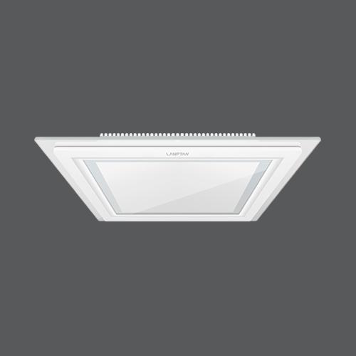 Led downlight glass glow square web2