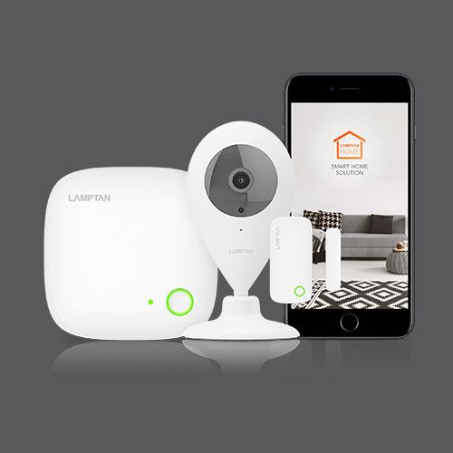 Smart home security kit web