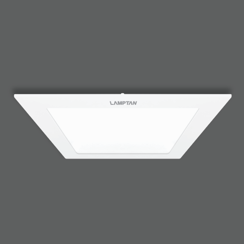Led downlight ultra slim square web