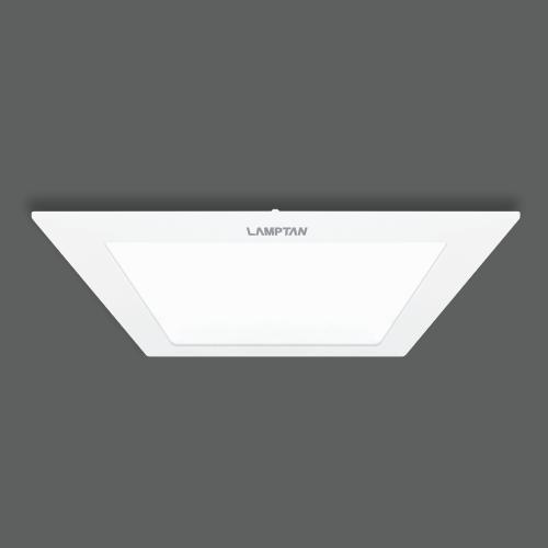 Led downlight ultra slim square web