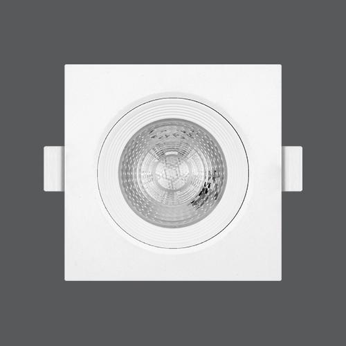 Led spotlight square 7w web2