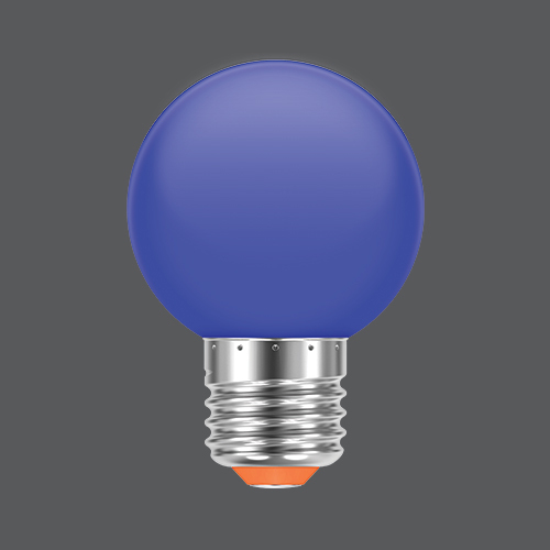 Led ball colour blue web
