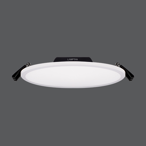 Led downlight slim edge circle web